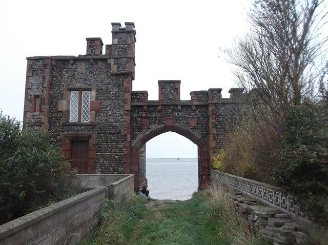 Old Customs House, Roa Island