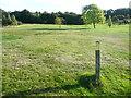 SE0820 : Elland FP57 south of Bradley Hall golf clubhouse by Humphrey Bolton