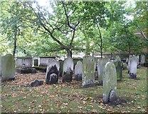 TQ3282 : Bunhill Fields Burial Ground by kim traynor