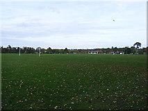 TM3863 : Saxmundham Sports Club Playing Field by Geographer