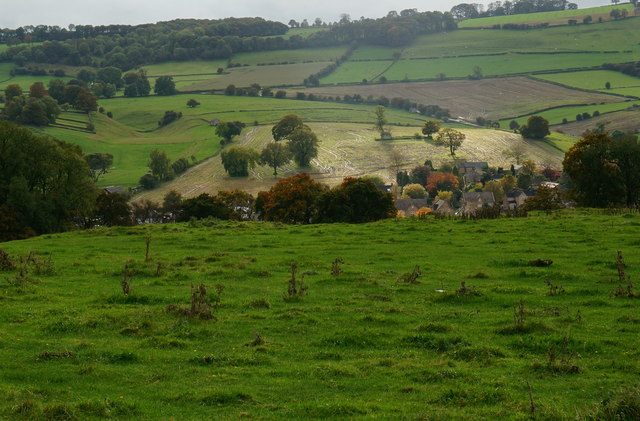 Countryside surrounding Bakewell
