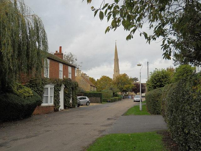 Rectory Lane, Glinton
