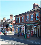 SO4382 : Cravens Arms Post Office by Jaggery