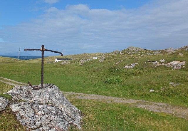 Rough croft land south of Struan, Isle of Coll