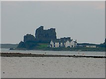 SD2363 : Piel Castle and The Ship Inn from Rampside by Rob Farrow