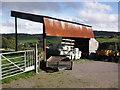 ST1934 : Corrugated iron shed, Bishpool Farm by Roger Cornfoot