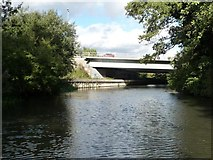 SU6570 : Motorway Bridge [no 18] by Christine Johnstone