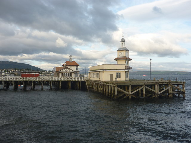 The Firth Of Clyde : The Old Pier, Dunoon