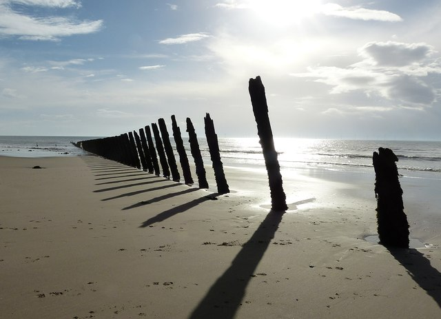 Walney Island Groynes (4) - The northern row