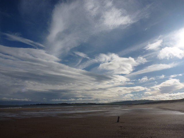 Coastal East Lothian : Big Sky Country, Belhaven Bay