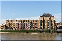 TQ3680 : Columbia Wharf, Rotherhithe by Christine Matthews