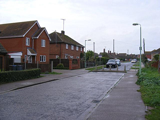 Henley Close, Saxmundham