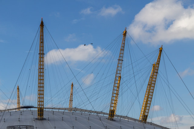 Walkway Over the O2 Centre, Greenwich