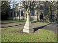 SD7807 : Memorial Cross, St Thomas' Church, Radcliffe by David Dixon