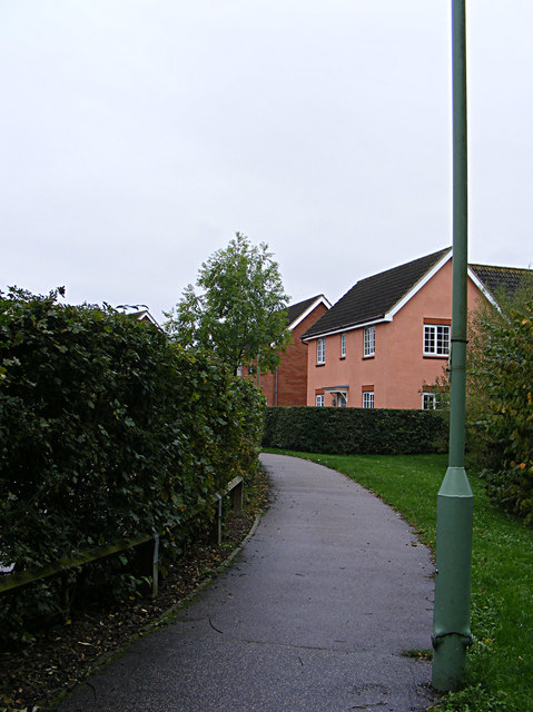 Footpath to Tennyson Road