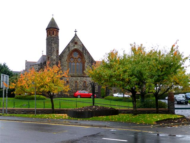 Autumn scene, Dublin Road, Omagh