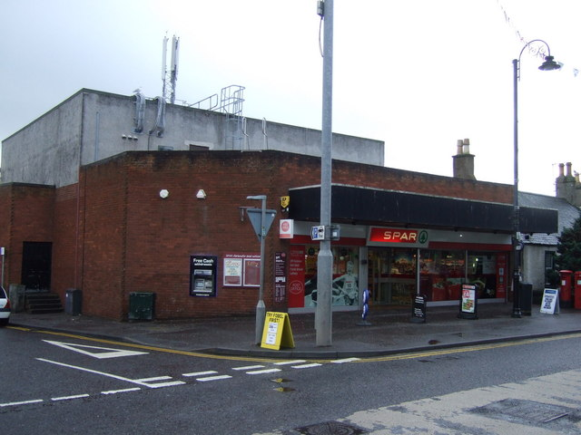 Post Office and stores, Carnoustie
