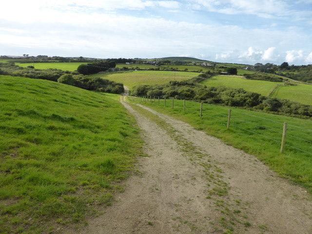 The lane to Trembethow