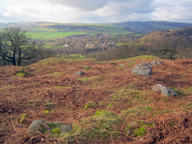 Rock outcrops at Dobb Edge
