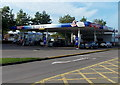 ST3086 : Tesco Extra 24 hour filling station, Harlech Retail Park, Newport by Jaggery