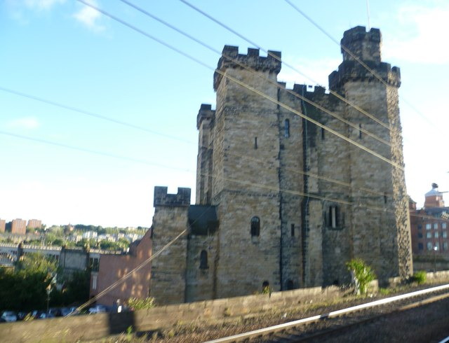 The Castle from the railway
