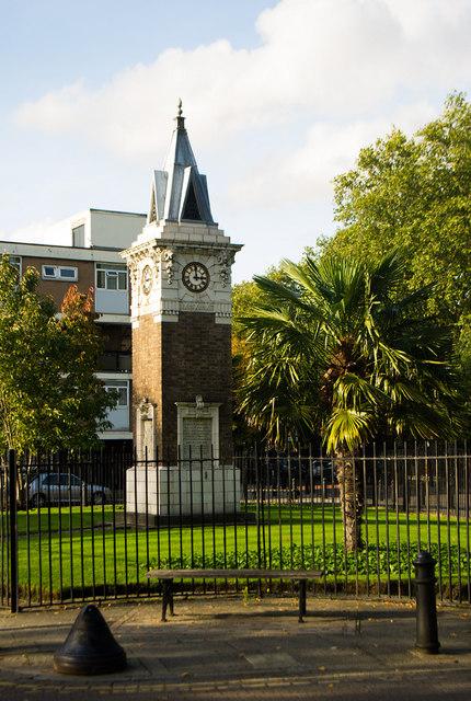 Atkinson Memorial, Stepney Green