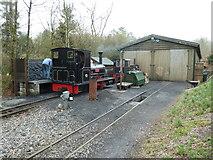 SS6846 : Lynton & Barnstaple Railway - Woody Bay Station by Chris Allen