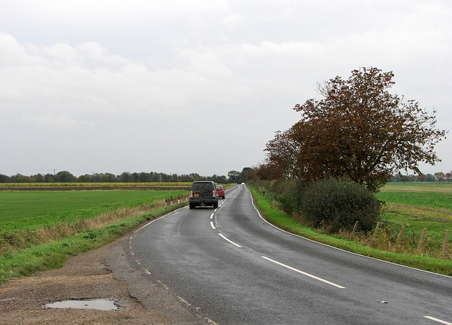March to Wisbech on the B1101