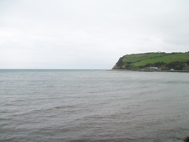 Lady's Hill seen across Glenarm Bay