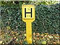 TF0119 : Hydrant sign by Bob Harvey