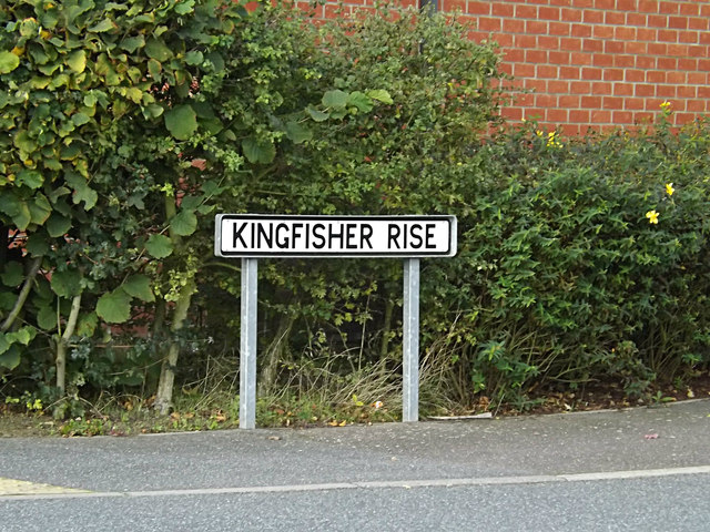 Kingfisher Rise sign