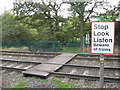SP0899 : Cross with caution-Little Aston, Staffordshire by Martin Richard Phelan