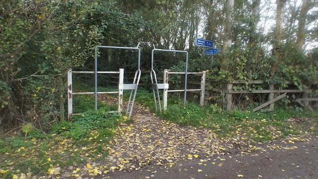 National Cycle Network near Faversham