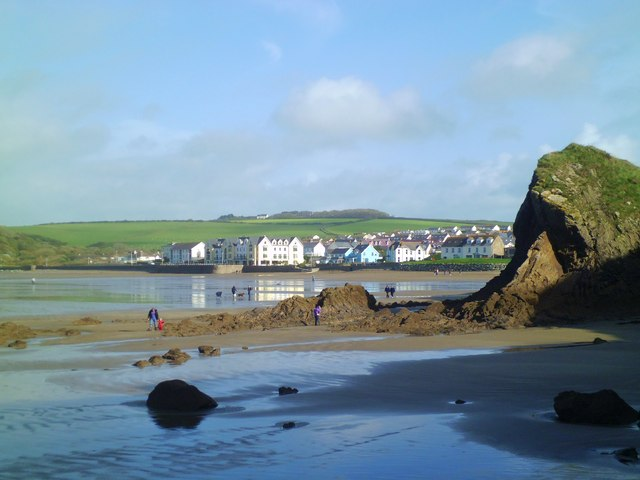 Heading for Broad Haven