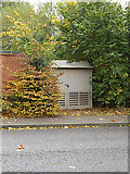 TM3763 : Electricity Sub-Station on Brook Farm Road by Adrian Cable