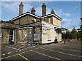 TM3863 : The former Saxmundham Railway Station by Adrian Cable