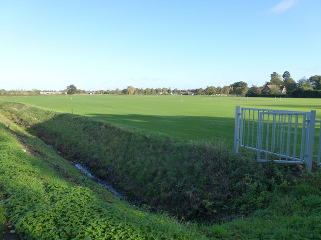 New playing field for Wisbech Grammar School