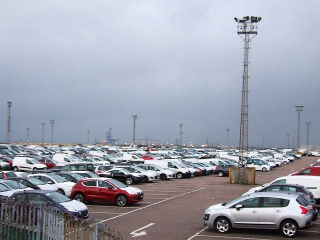 Cars That Start With B >> New cars at Sheerness Docks © Chris Whippet cc-by-sa/2.0 ...