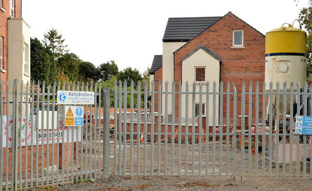 New social housing, Dunmurry (2)