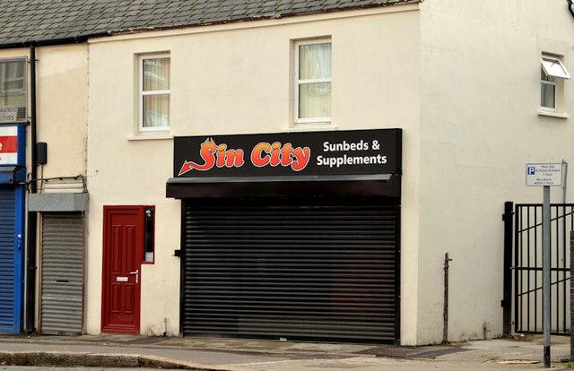 Sunbed shop, Dunmurry