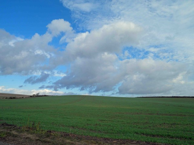 South Lincolnshire farmland Little Bytham