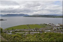 NS2577 : Battery Park viewed from the Lyle Hill Viewpoint, Greenock by Terry Robinson