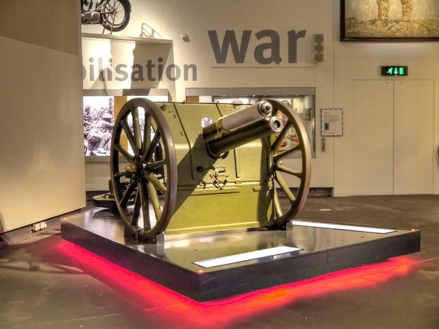 First World War Field Gun, Imperial War Museum North