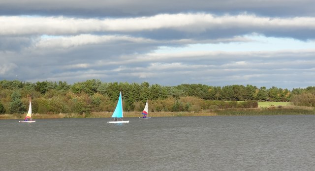 Sailing on Ladyburn Lake