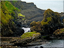 C9444 : Antrim Coast - Giant's Causeway - Southwest side of Pornaboe by Joseph Mischyshyn