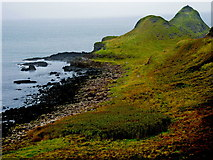 C9444 : Antrim Coast - Giant's Causeway - East Side of Portnaboe & Great Stookan by Joseph Mischyshyn