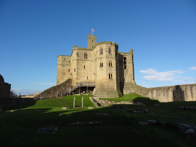 The Keep at Warkworth Castle