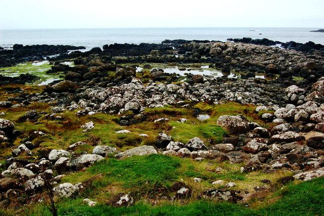 Antrim Coast - Giant's Causeway - Tidal Pools at Port Ganny