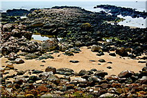 C9444 : Antrim Coast - Giant's Causeway - Tidal Pools at Port Ganny by Joseph Mischyshyn