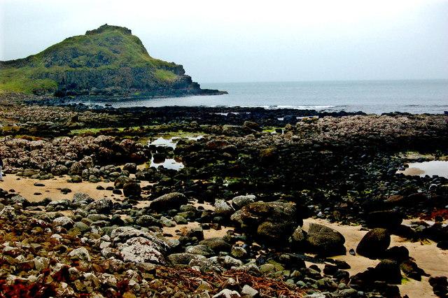 Antrim Coast- Giant's Causeway - Tidal Pools at Port Ganny & The Great Stookan